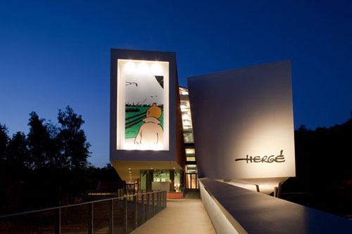 The Hergé Museum, designed by French architect Christian de Portzamparc, opened in Belgium this week (via Daily Icon)