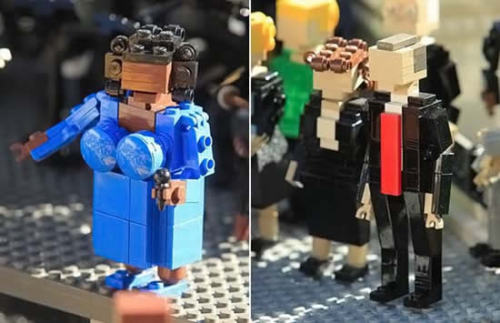 Barack Obama's Inauguration at Lego Land