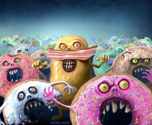 Zombie Doughnuts…enough said.