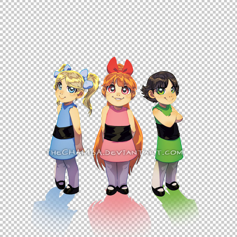 Sugar, Spice and Everything Nice  The PPG ala RandomVeus style.