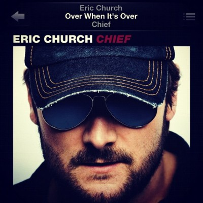You know me so well #EricChurch, so well. #Chief #overwhenitsover #country #countrymusic #music