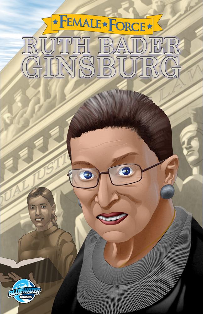 RUth Bader Ginsburg comic