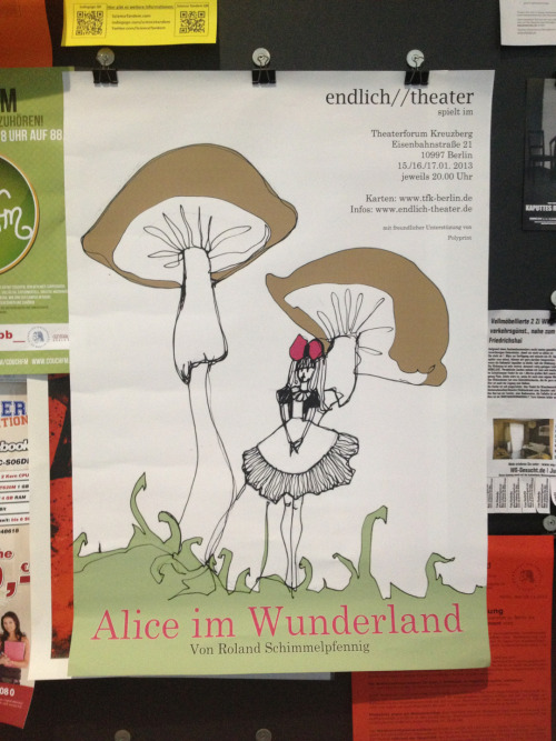 Alice in Deutschland:)