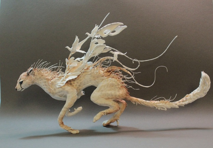 moshita:  Surreal Hybrid Animal Sculptures El Jewett
