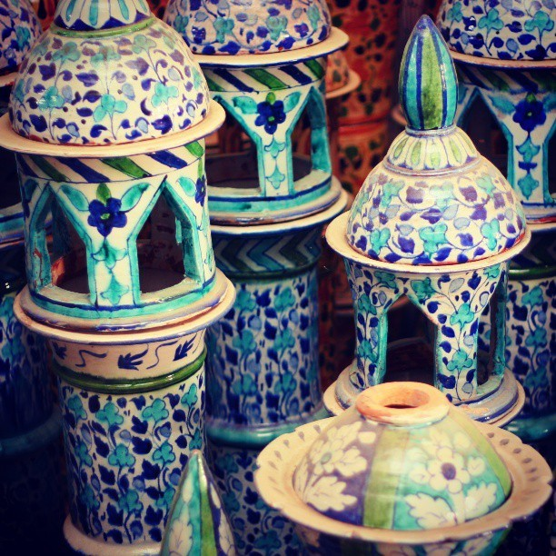 Kashi - indigenous ceramic handicraft of Sindh, Hala, #Pakistan