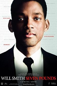 Seven pounds is a heart warming films which is about an man named Ben who embarks on a journey to save 7 random peoples lives to redeem his self for his secret past. I really enjoyed this film I thought it was very touching and I loved the twist at the end. I felt like it all worked well together and Will Smith played a beautiful part in the film. This film fits into the category genre of drama because his life is extremely dramatic and has an element of sadness also. I think that romance could be a sub genre for this film because we follow the relationship of Ben and Emily.
