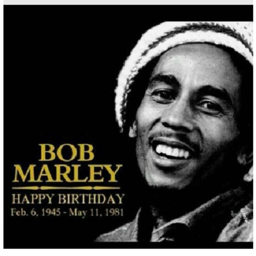 #HappyBirthDay 2 the #legendary #BobMarley .. may ur message live in thru ur music #onelove #respect