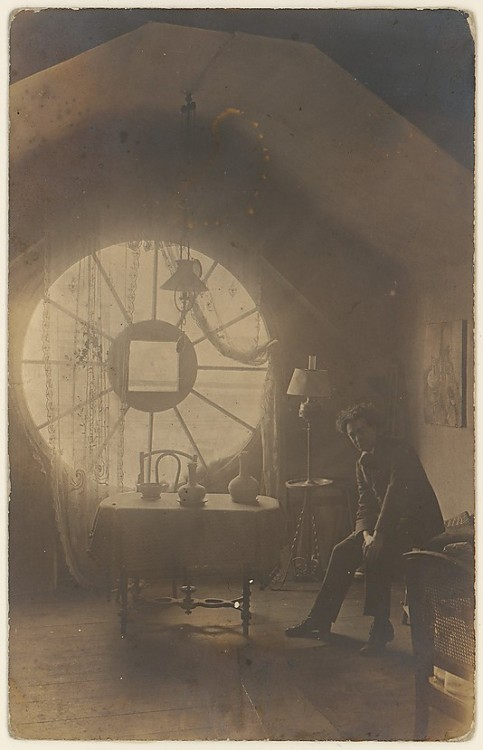 Brassaï in His Berlin Studio, 1921 (photographer unknown)