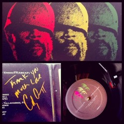 Thanks to @chesnutt183 for hooking me up w/ the vinyl and the loving message… & for making me wait so long for another great album. #LandingOnAHundred #TheSeed