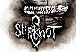 in-case-of-emergency:  Slipknot fan art
