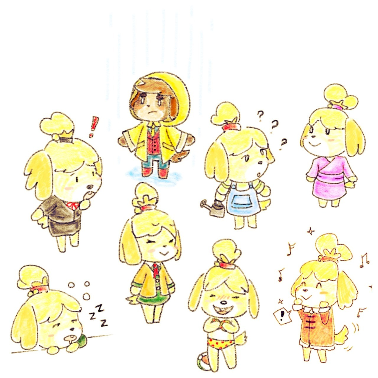 animalcrossing.us — alottamalarkey: Isabelles and a Digby ...