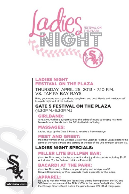 Tomorrow is Ladies Night! Get your tickets here: http://atmlb.com/YqbFVW