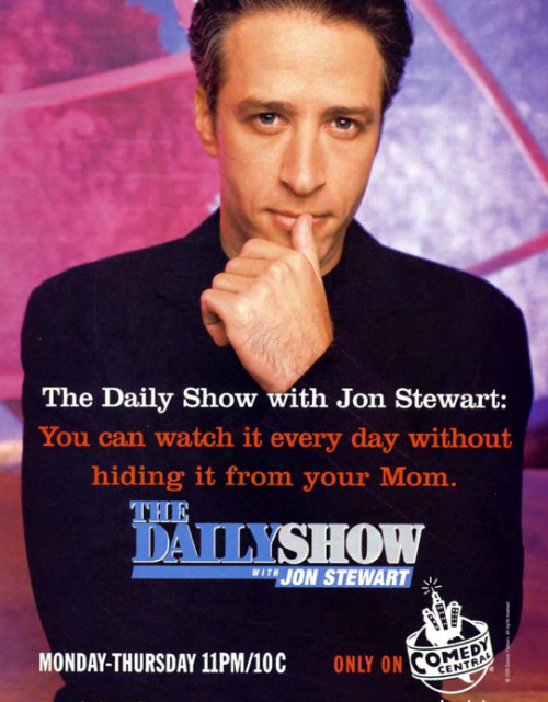 comedycentral:  coffee-for-two:  1999 ad for The Daily Show  This is the only thing that makes me want to party like it's 1999.  Who was the target audience for this?  Was this targeted at 14-year-olds who secretly watched porn online?