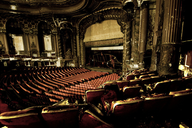 destroyed-and-abandoned:  Abandoned Victorian Theater Source: Ausibear (flickr)