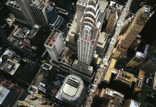 Aerial view of New York City (photo by Jason Hawkes) - via clubmonaco