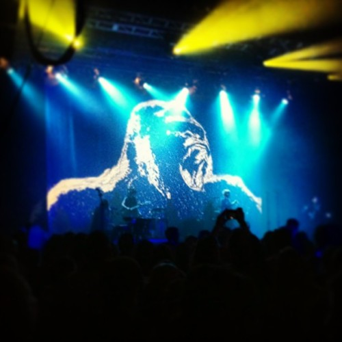 She brought the gorilla! #catpower  (at The National)
