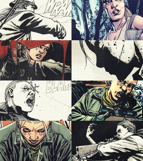 ravenroths:  ENDLESS LIST OF FAVORITE COMIC CHARACTERS     Andrea | The Walking Dead