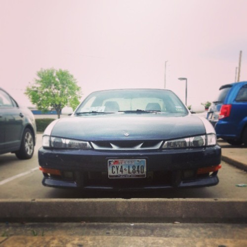 That mean #kouki front. #nissan #240sx #s14 #drift #lowlife #import #car