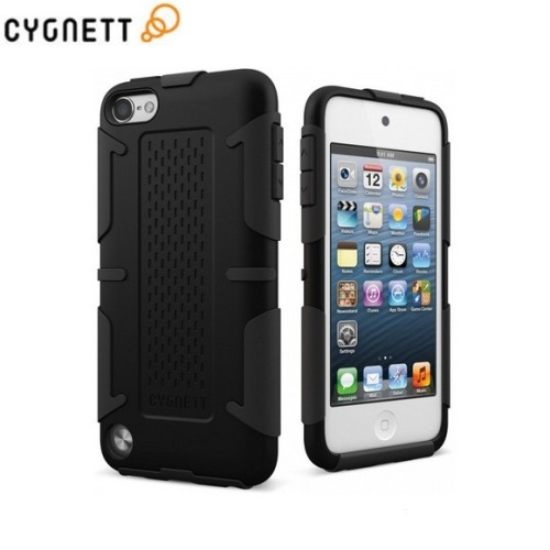 iPod Touch 5G Protective Case This ultra slim iPod Touch 5G case is built using a heavy duty shell and features an impact resistant interior, providing the perfect protection against dirt, scratches or shocks. The WorkMate case is designed to fit perfectly the iPod Touch 5G while offering access to all ports and features, and due to its slim size, the iPod with still keep its original look and style.