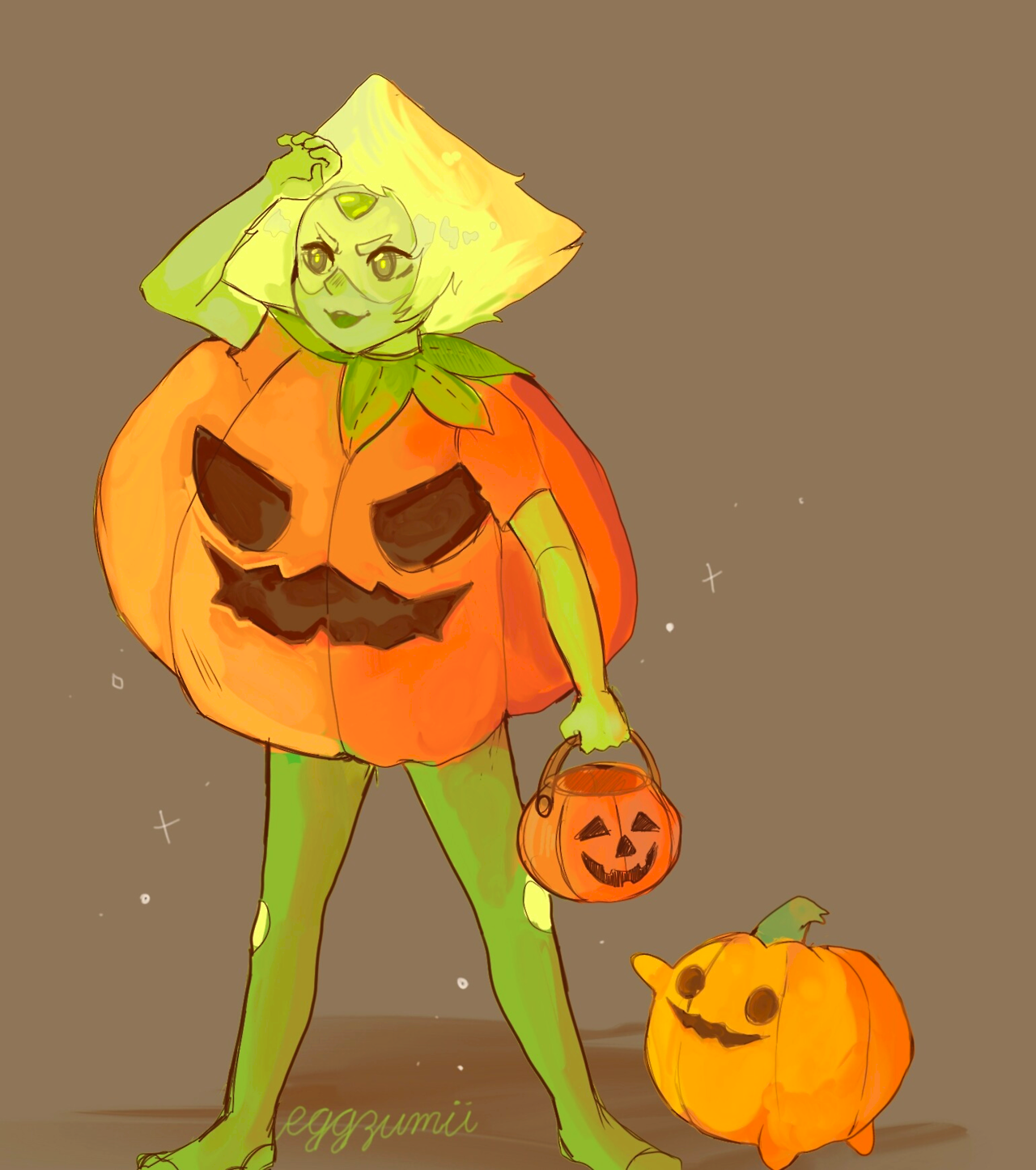 (belated) happy halloween!! :} steven universe resumes this november!! yay!