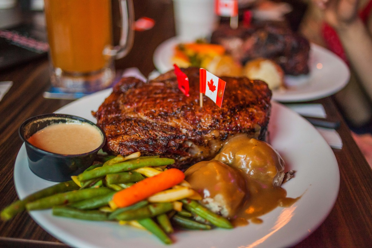 What's the best reward for some work going well?  A massive 40oz steak.