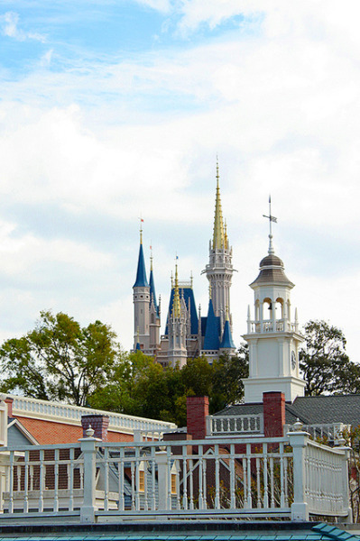 Magic Kingdom Rooftops on Flickr.