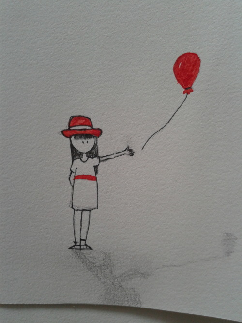 chasing you as the balloon i lost with the wind