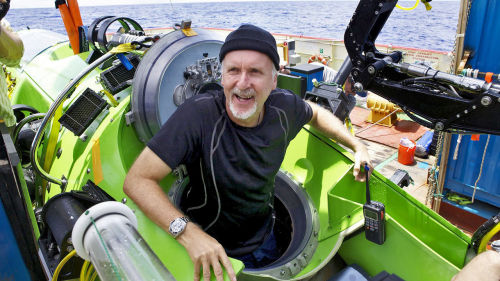 """Inspiration can hit you in the head at any time in any context. It could happen in a conversation. Talking to someone at a party, you can get an idea. But you've got to remember those inspirations."" —Filmmaker James Cameron shares his methods of getting inspired and getting the work done"