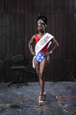 harrietsrevenge:  ladyfresh:  Zanele Muholi, Miss Lesbian I (2009), lambda print. (Photographer: Sean Fitzpatrick. Copyright, the artist. Courtesy Stevenson, Cape Town.)  The real Wonder Woman
