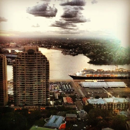 #sydneyharbour #view (at Blu Bar On 36)