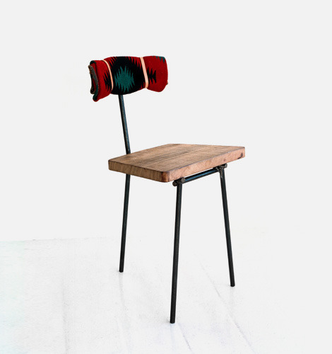 dstore:  Three legged chair by Dean Edmonds.