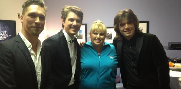 Hanson - I'm on The Tonight Show TONIGHT with the awesome band HANSON x