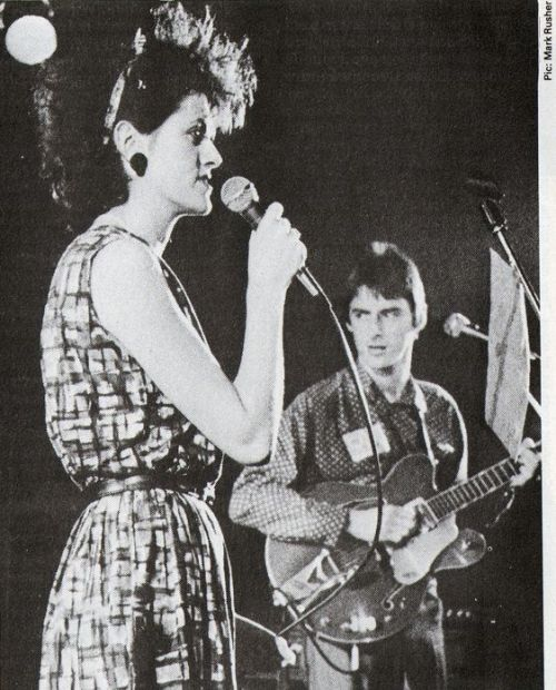 Tracey Thorn & Paul Weller live at ICA Rock week, 1983