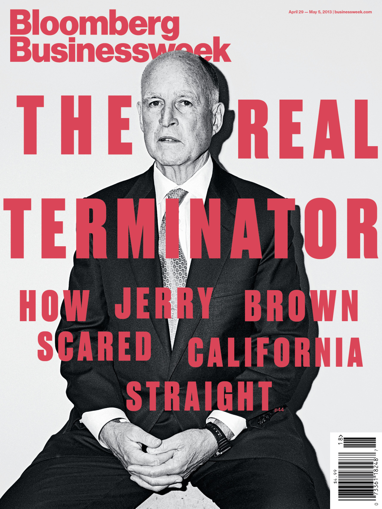 The Real Terminator How Jerry Brown scared California Straight