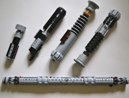 So… who wants a LEGO Lightsaber?