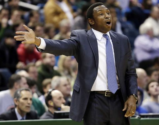 "Hasta La Bye-Bye, Avery Johnson So the Nets, fresh off of losing 10 of their last 13 games, have shitcanned coach Avery Johnson in favor of interim leader P.J. Carlesimo (you know, the guy Latrell Sprewell choked that one time) and are reportedly pursuing Phil Jackson as his replacement. The whole revival of Brooklyn basketball has gone from a fun experiment (black and white uniforms and Jay-Z) to just as much of a circus as any other New York team (realizing that black and white uniforms and Jay-Z cannot win basketball games simply because they're cool as shit). And let's be real, they looked pretty damn bad against the Celtics on Christmas—and if you're using Kris Humphries' injuries as a legitimate excuse for that, your ass is as dumb as his ex-wife's ass is big. Thanks for playing, Brooklyn, but if starting .500 with one of the best young(ish) coaches in the NBA and few bona fide stars is going to get you replaced, there's not a damn soul out there that's going to want that job. Especially not Phil ""I'm Totally Better Than You, Don't Touch Me"" Jackson. (Who is right in that assessment of himself, by the way.) Wait 'til next year, or until some other big man who's a bit more skilled than Brook Lopez is available. —Cpt. Backfire"
