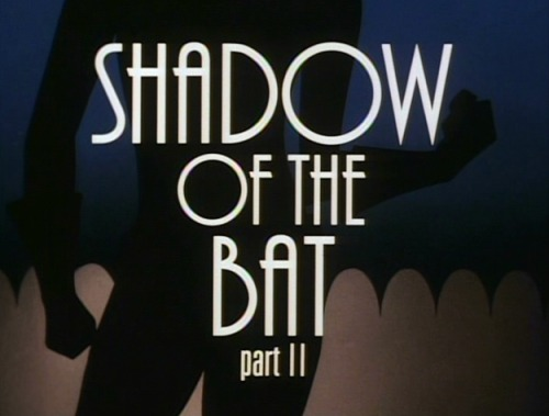 thoughtnami:  deantrippe:  A few of my favorite title cards from Batman: The Animated Series.  You want to know a reason why I still love Batman: The Animated Series more than 20 years after it debuted? Each episode is like a stand-alone noir mini-movie. Definitely inspired by those great crime films of the 1930s and 1940s. You squint hard enough, you can almost imagine these episodes in black-and-white.  The fact they had individual title cards on the original series more than magnifies that viewpoint.