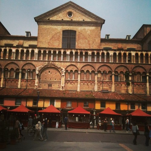 Yesterday, in beautiful #ferrara #italy