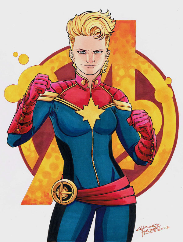 charlesholbert:  Captain Marvel