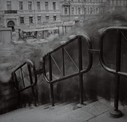 platea:  City of Shadows (1992-1994) by Alexey Titarenko