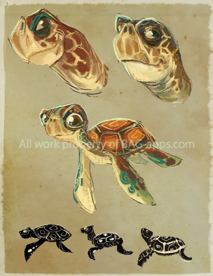 Sea Turtle Concepts - OLI An eBook that never really took off. 2012