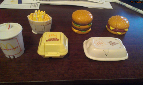 Oh my God I totally had the Big Mac and Hot Cakes ones, wow