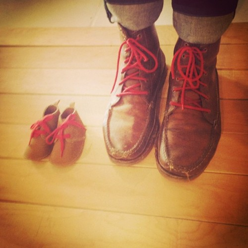 How cute! Our prop stylist's shoes matched one of our props on set! Follow us on Instagram: @RachaelRayMag