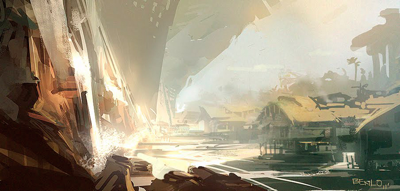 theartofanimation:  Ben Lo