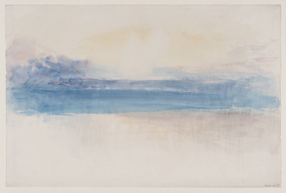 likeafieldmouse:  Joseph Mallord William Turner - Sky Studies (1820-30) - Watercolor on paper