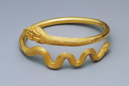 ancient egypt jewelry bracelets snake romano-egyptian history