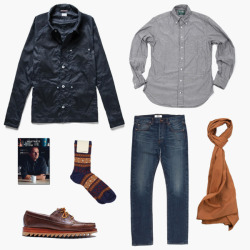 anchordivision:  (via F R E E / M A N - Journal - Winter Kit N°9 - Orange Chambray)