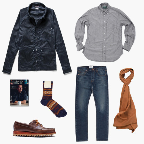 (via F R E E / M A N - Journal - Winter Kit N°9 - Orange Chambray)