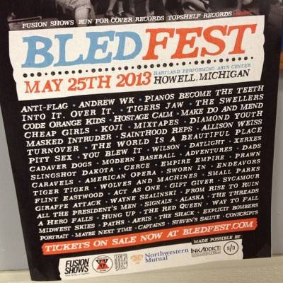 The Swellers at Bled Fest. 9pm on Stage B. Be there. www.bledfest.com