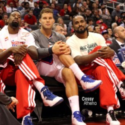clipsbasketball:  Sitting pretty